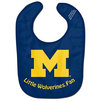 Michigan Wolverines - Little Fan All Pro Baby Bib