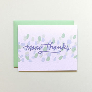 Dancing Light Thank You Card
