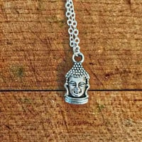 Tiny Buddha Necklace