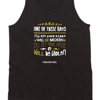 Foo Fighter Quote Mens Tank Top