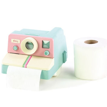 Polaroll Color Toilet Paper Dispenser | Polaroid 80's Style