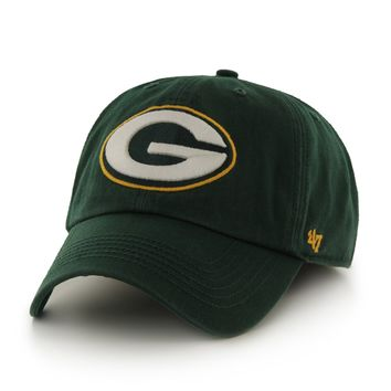 Green Bay Packers Franchise 47 Slouch Fitted Hat by 47 Brand