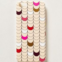 Metallic Scalloped iPhone 5 Cover by Anthropologie Pink One Size Jewelry