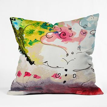 Ginette Fine Art Etude Number 2 Throw Pillow