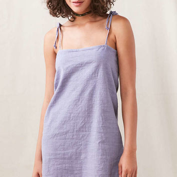 Urban Renewal Remade Tie Shoulder Slip Dress - Urban Outfitters