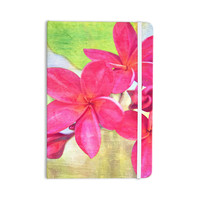 "Sylvia Cook ""Plumeria"" Flower Petals Everything Notebook"