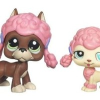 Littlest Pet Shop Assortment #1519/1520 Collectible Figure Boxer Poodle