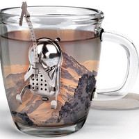 Climber Tea Infuser Tea Strainer by Kikkerland