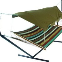 Pawleys Island Hideaway Collection leather Hammock Canopy (Discontinued by Manufacturer)