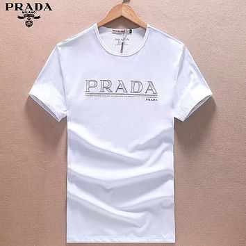 Boys & Men Prada Fashion Casual Shirt Top Tee
