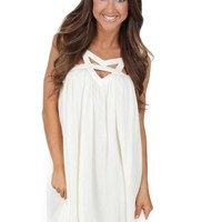 Time Is Love Dress in Vanilla | Monday Dress Boutique
