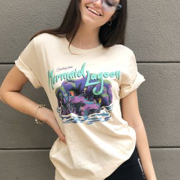 """Greetings From Mermaid Lagoon"" Tee"