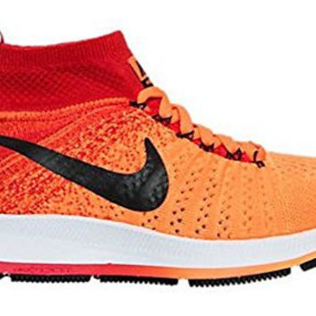 Nike Kids ZM Pegasus All Out Flyknit (Total Orange, 6.5Y)