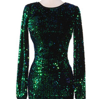 Carrie Sequin Dress
