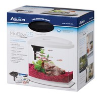 Aqueon BettaBow Black LED Desktop Fish Aquarium Kit, 2.5 galllon | Petco Store