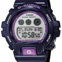 Casio Womens G-Shock S Series - Gray Dial - Purple Resin Case and Strap - 200M