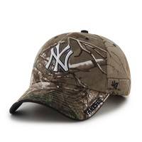 '47 Brand New York Yankees Frost Realtree Camouflage Adjustable Cap - Adult, Size: One Size (Green)