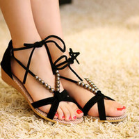 new arrival 2016 women sandals low heel wedges summer casual single shoes woman sandal fashion soft slippers free shipping A075