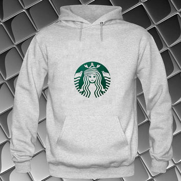 starbucks Hoodies Hoodie Sweatshirt Sweater white and beauty variant color Unisex size