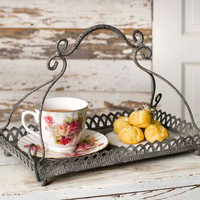 Vintage Chantilly Tray for the Home.  Beautiful Vintage Serveware.