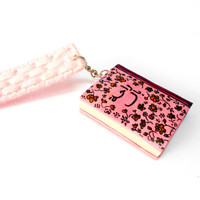 Tranquility Rose Miniature Book - Flowers Bookmark - Flowers Hand-painted miniature Book - Custom Bookmark with Flowers - Selsal