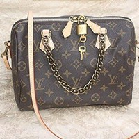 Loui Vuitton LV Chain Speedy 25 handbag
