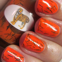 Animal Tiger Nail Polish
