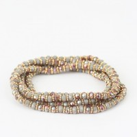 Altar'd State Beaded Beauty Wrapped Bracelet | Altar'd State