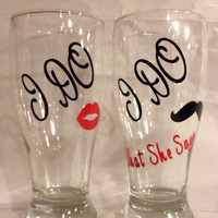 Personalized Wedding Glasses, Wine Glasses, Beers Glasses