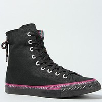 Converse The Chuck Taylor All Star Slouchy Sparkle Rand Hi Sneaker in Black