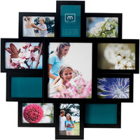 Walmart: Melannco Symmetry 11-Opening Collage Picture Frame, Black