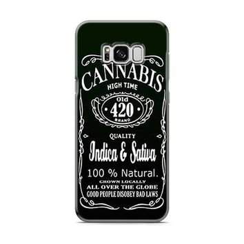 CANNABIS WEED Samsung Galaxy S8 | Galaxy S8 Plus Case