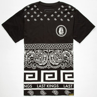 Last Kings Phantom Mens T-Shirt Black  In Sizes