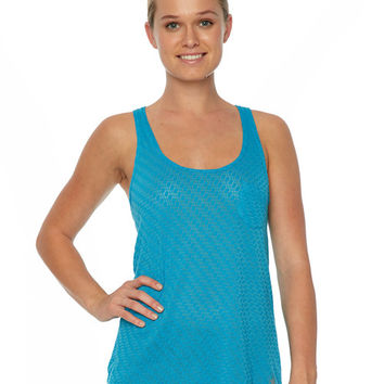 Body Glove Breathe - Haleiwa Tank Top in Ocean