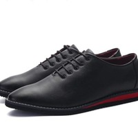 Mens Non Slip Lace Up Shoes