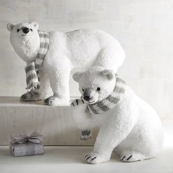Furry Polar Bears