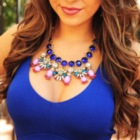 Your Everything Necklace: Blue/Pink | Hope's