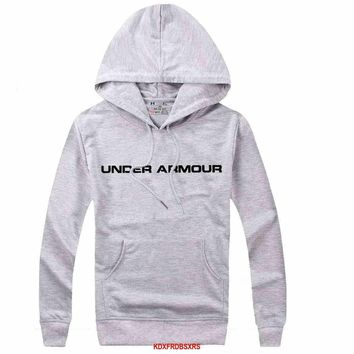 Under Armour Women Men Casual Long Sleeve Top Sweater Hoodie Pullover Sweatshirt-6