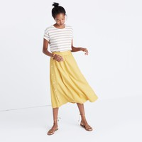 Side-Button Skirt : | Madewell