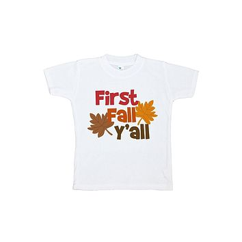 Custom Party Shop Baby's First Fall Y'all Shirt