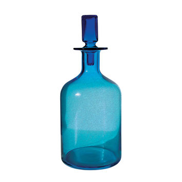 824016 Pool Blue Decanter - Large