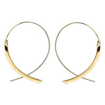 Lana Jewelry 'Flat Upside Down ' Hoop Earrings | Nordstrom
