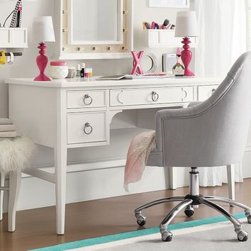 Shelby Desk + Mirror Hutch