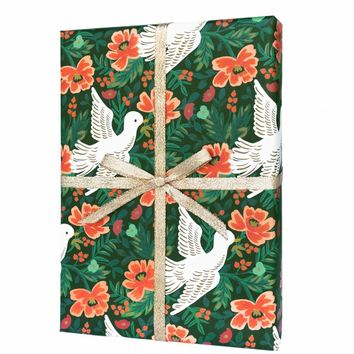 Peace Dove Rifle Paper Co. Wrapping Sheets - Roll
