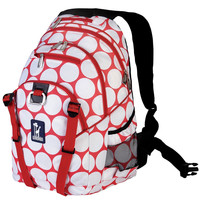 Big Dot Red & White Serious Backpack