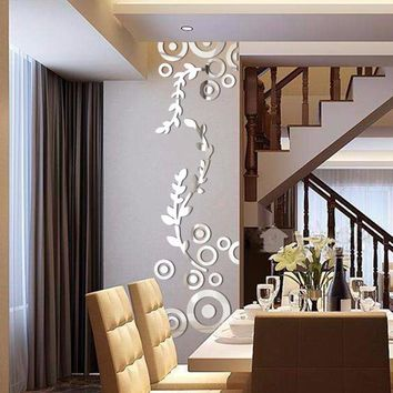 Wandering Vine Circle Wall Sticker Decal