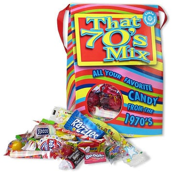 70's Decade Retro Candy Bag