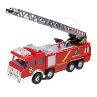 Simulation Electric Fire Truck Kids Toy Water Spray Fire Engine Car Toy Kids Educational Vehicle Toy Children Birthday Gift