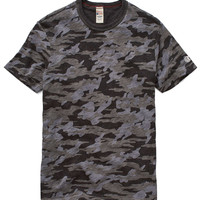 Camo T-Shirt in Charcoal Mix
