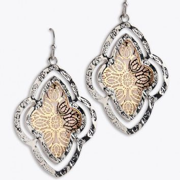 Morrocan Rose Earrings